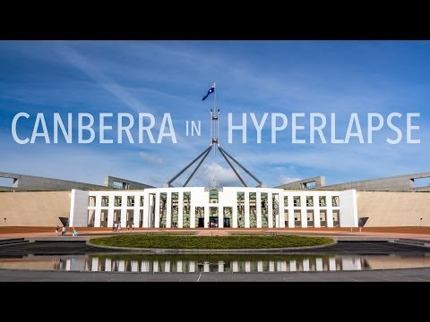 Canberra in Hyperlapse