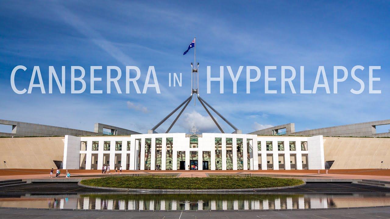 Aquí podemos contemplar la bella ciudad de Canberra.
