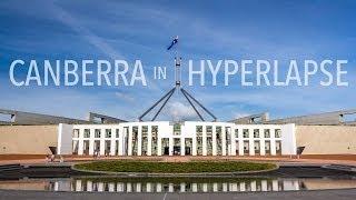Canberra in Hyperlapse