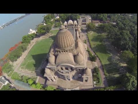 Aerial View of Belur Math