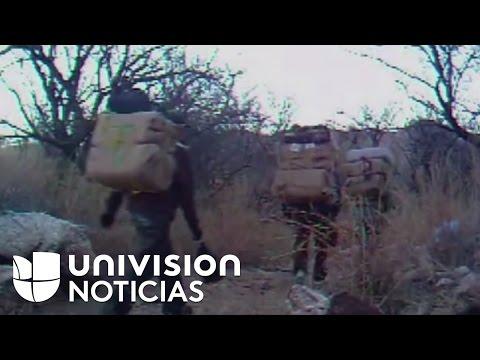 Una mochila de marihuana es el pasaje para cruzar la frontera de los burreros