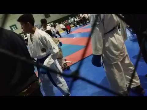 PGII 2  Karate Kumite -52kg Biru/ao Nazart AfghanS