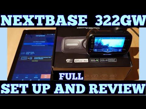 Nextbase 322gw Dash Cam Full Set Up & Review, App Setup + 1080p Footage