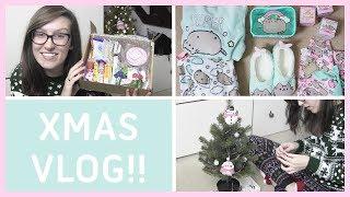 Craft Vlog #8  ● Pusheen Haul & GIVEAWAY, Xmas Decorating & Miniature Sweet Unboxing