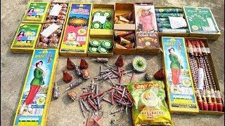 Bamboo vs bullet bomb | Rocket vs thread | Flower pots | Skyshot | Signal rocket | Chakri blast |