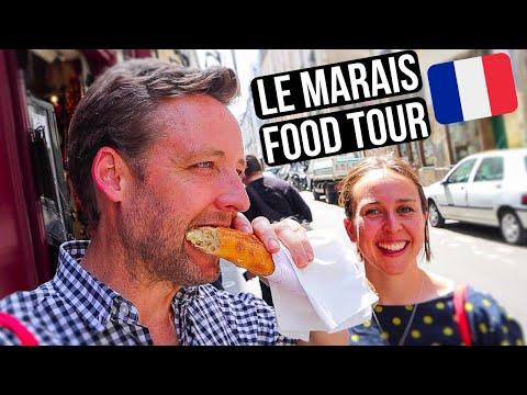 EPIC PARIS Food Tour - 11 INCREDIBLE Stops - Best of LE MARAIS