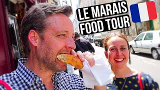 EPIC PARIS Food Tour - 11 INCREDIBLE Stops - Best of LE MARAIS
