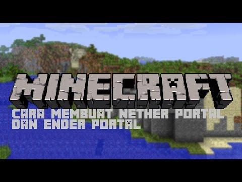 | Minecraft | Cara membuat ner portal dan ender portal