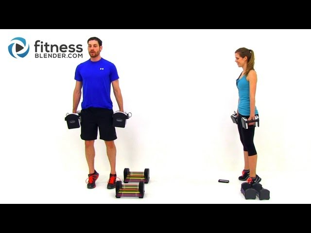 Lower Body Toning Workout - 56 Minute Butt and Thigh Tabata Workout with Fitness Blender