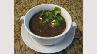 Spicy Black Bean Soup - Lynn's Recipes