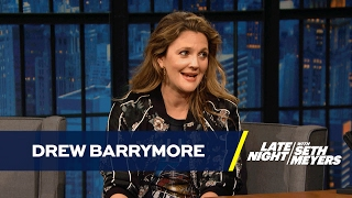 Drew Barrymore Got a Bad Concussion Filming S...