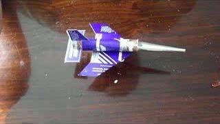 Сделать самолет из пачки сигарет