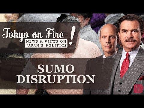Sumo Disruption   Tokyo on Fire
