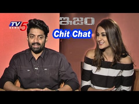 Nandamuri Kalyanram And Aditi Arya Interview on ISM Movie | TV5 News