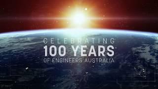 Vergangenheit, Gegenwart, Zukunft: wir Feiern 100 Jahre der Ingenieure Australien