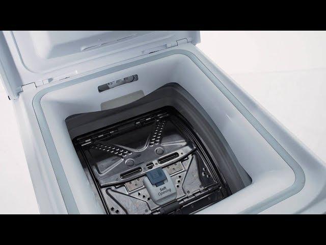 vaskemaskine topbetjent