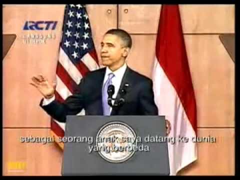 Pidato Obama di Universitas Indonesia (UI) Jakarta Indonesia.flv