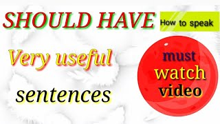 Should have-15 very useful sentences/must watch/yuvi English
