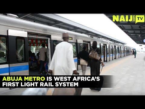 Nigeria Latest News: The Abuja Metro Is West Africa's First Light Rail Network | Legit TV