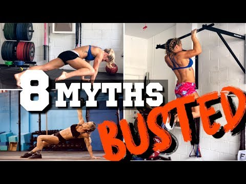 8 Popular Fitness Myths Busted!!   Sarah Grace Fitness