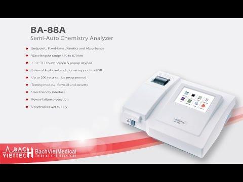 Mindray BA-88A - Semi-Chemistry Analyzer