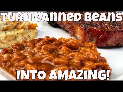 Pork And Beans Recipe - Easily Turn Canned Beans Into AMAZING