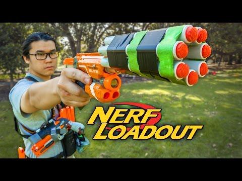 Nerf Ak 47 Stryfe Will S Nerf War Hvz Loadout Doovi