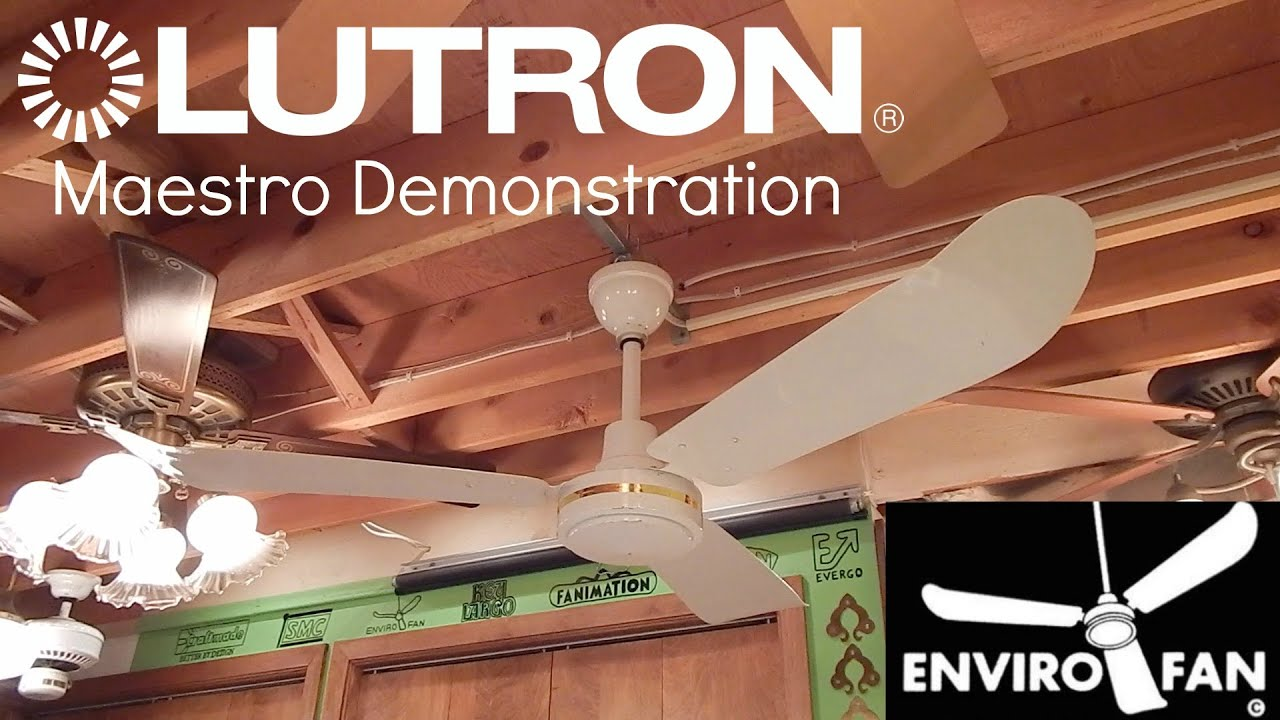 Lutron maestro fan control demonstration ft envirofan youtube lutron maestro fan control demonstration ft envirofan mozeypictures Images