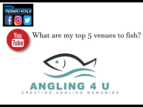 My Top 5 Venues To Fish