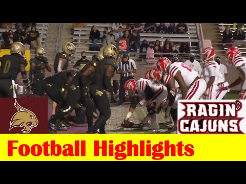 Louisiana vs Texas State Football Game Highlights 10 31 2020