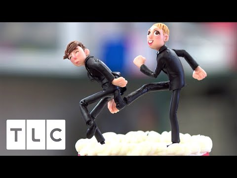 A Divorce Celebration Cake! | Cake Boss