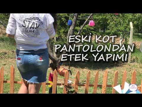 Pantolondan Kot Etek Yapımı | Dikiş Makinesiz Kendin Yap