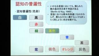 認知言語学:普遍性と固有性 5 (南雅彦)