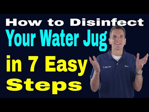 How to Disinfect Your Water Jug in 7 Easy Steps
