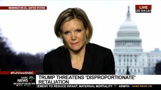 Trump threatens 'disproportionate' retaliation to Iraq and Iran threats