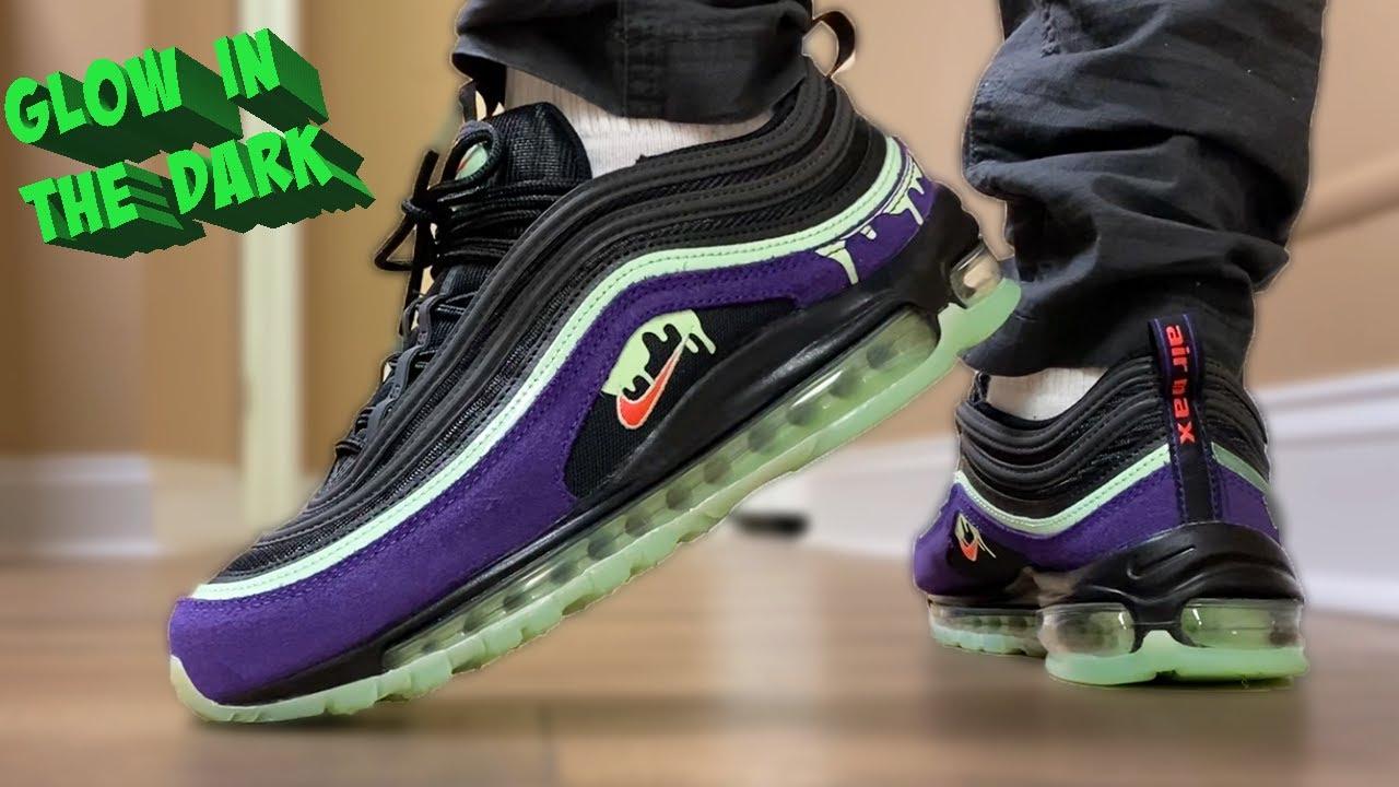 Watch BEFORE You BUY! Nike Air Max 97 HALLOWEEN SLIME On Feet!