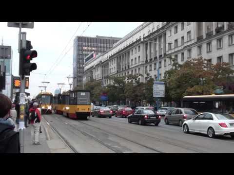 Poland: Warsaw tram 16/10/15