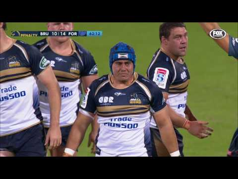 2017 Super Rugby Rd 3: Brumbies v Force