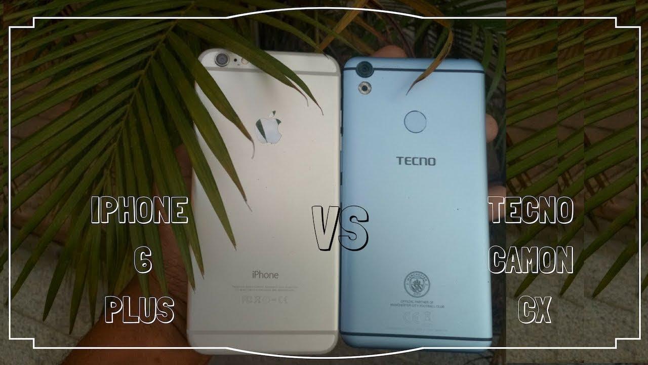 TECNO Camon CX vs iPhone 6 plus: Camera Comparison