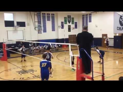 Peacock v Wood Dale Boys Volleyball 3-19-2015