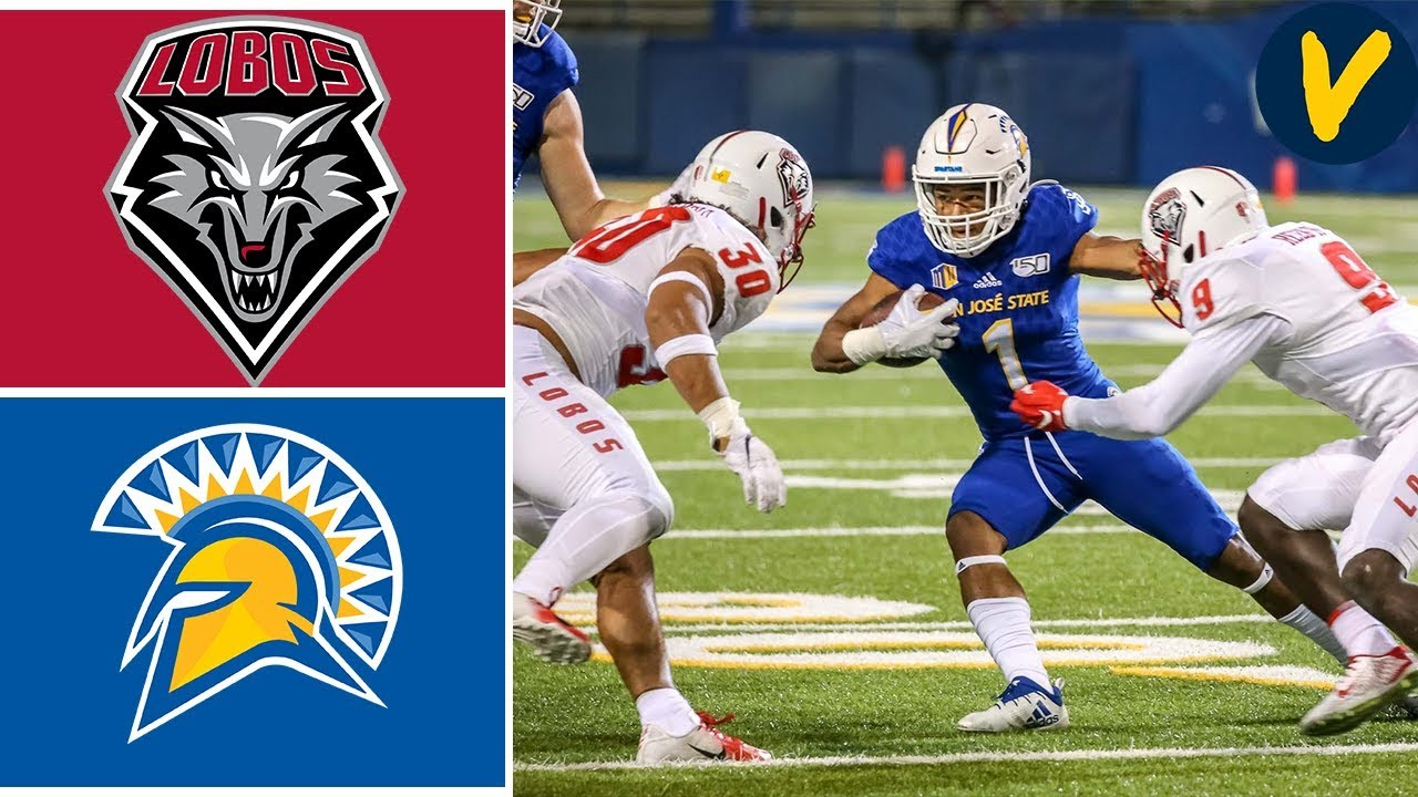 New Mexico vs San Jose State | Week 6 | College Football Highlights | 2019