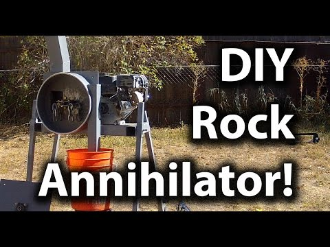DIY Impact Mill/Rock Crusher - Crush Anything (Gold Ore, Circuit Boards, etc)