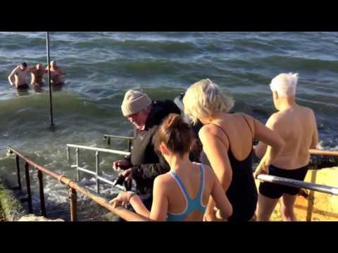 Dollymount Christmas Swim 2016