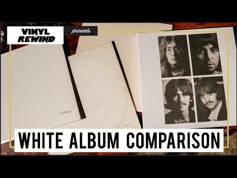 The Beatles 2018 White Album vs original mix | vinyl comparison Mp3
