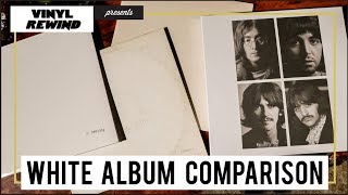 The Beatles 2018 White Album vs original mix | vinyl comparison