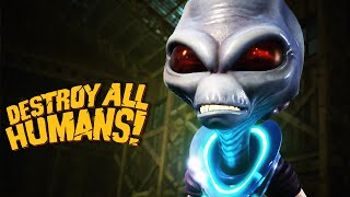 Destroy All Humans! - Official Armquist vs Humans Gameplay Trailer
