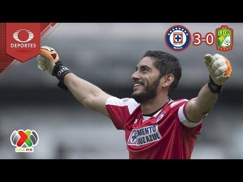 La máquina celeste, más fuerte que nunca | Cruz Azul 3 - 0 León | A 2018 - J5 | Televisa Deportes