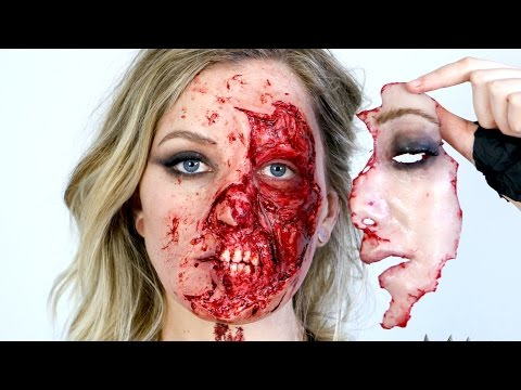 Taylor Swift Bad Blood Ripped Face Makeup
