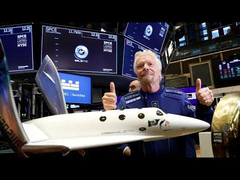 EN VIVO | Virgin Galactic: Despega el primer vuelo espacial comercial con Richard Branson a bordo