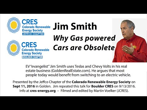 Why Gasoline Powered Cars Are Obsolete - Jim Smith